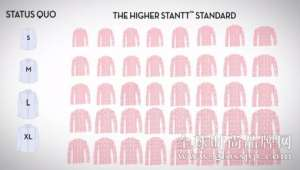 资讯75种尺码!Stantt 想让 95%的男性轻松买到合身的衬衫